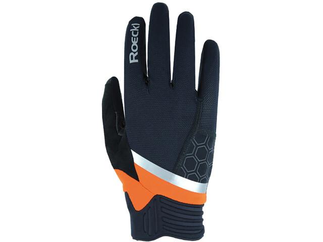 Roeckl Morgex Gloves, negro/naranja